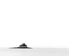 Isolation... (Dustin Penman) Tags: sea blackandwhite seascape water rock island rat dustin isolation penman photocontesttnc12