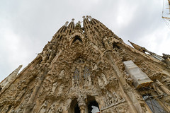 Sagrida Familia Barcelona (JinLancs) Tags: geocity exif:iso_speed=100 exif:focal_length=14mm camera:make=nikoncorporation exif:make=nikoncorporation geostate geocountrys exif:lens=140240mmf28 exif:aperture=56 exif:model=nikond800e camera:model=nikond800e