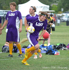 LSU-vs-Ball-State-(10) (ebarbier) Tags: nikon lsu quidditch wc6 d3100 southernbellephotography