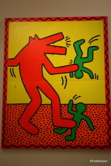 Keith Haring-10 (Top a Nice) Tags: paris france canon artist keith exposition haring 2013 400d
