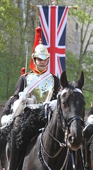 State Visit Windsor 2013 (delta23lfb) Tags: horse soldier uniform windsor britisharmy unionjack unionflag workinghorse statevisit householdcavalry bluesandroyals