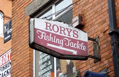 Rory's Fishing Tackle (yellow book) Tags: ireland dublin signs fishing signage dublincity fishingtackle
