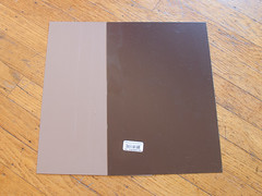 Powder-coated steel shingles (Spooktalker) Tags: shingles powdercoated steelsheet