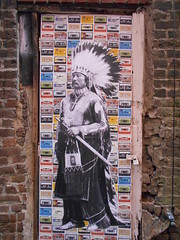 chief of tapes (Joelk75) Tags: art graffiti alley tn knoxville tennessee marketsquare unionavenue wallavenue