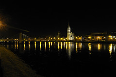 Lights reflecting, Inverness (KatiaUK) Tags: night reflections lights scotland tokina inverness d300 1116