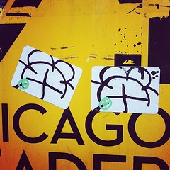 WYSE (billy craven) Tags: chicago graffiti sticker tag slap d30 handstyles wyse uploaded:by=instagram