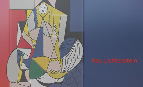 """Odaliscas (Mujeres de Argel) yuxtaposición y deconstrucción de Pablo Picasso (1955), síntesis de Roy Lichtenstein (1963). • <a style=""""font-size:0.8em;"""" href=""""http://www.flickr.com/photos/30735181@N00/8746884763/"""" target=""""_blank"""">View on Flickr</a>"""