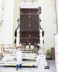 Boeing ships 6th Wideband Global SATCOM satellite for launch (The Boeing Company) Tags: space security boeing capecanaveral defense elsegundo usairforce wgs australiandefenceforce widebandglobalsatcom