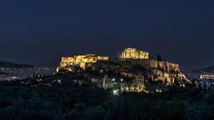 Acropolis at Night (Dr. Farhan) Tags: history night greek temple athens acropolis farhan greektemple nikond600