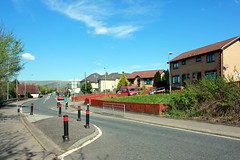 Croy. (boneytongue) Tags: house church station private scotland village north railway council housing lanarkshire croy