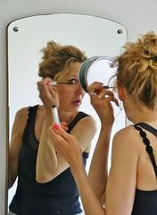 Make up (osto) Tags: woman reflection denmark mirror europa europe sony zealand tina dslr scandinavia danmark a300 sjlland  osto alpha300 osto may2013