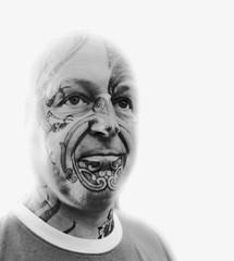 Tattooed Skinhead (alexiabyrne) Tags: portrait tattoo blackwhite skin tattoos skinhead tattooing
