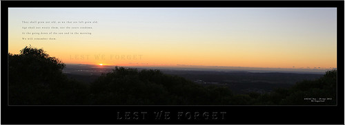 ANZAC DAY 25-04-2012