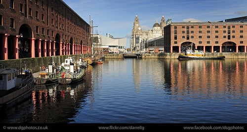 UK - Liverpool - Docks Panorama 02