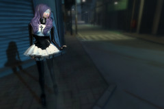 2013 Coordinate 71 (littlerowan) Tags: stockings fetish gothic goth crosses bondage rubber secondlife heels latex corset buckles blindfold purplehair latexgloves rubberfetish rozena nfn latexstockings latexfetish wasabipills adoreandabhor nekosfrommars