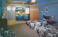 Hotel Hana Maui Room c1958 (Kamaaina56) Tags: hawaii interior postcard maui hana 1950s