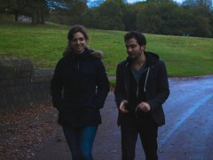 Silvia Milano and Hadrien Mamou at Cumberland Lodge