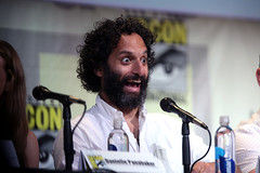 Jason Mantzoukas (Gage Skidmore) Tags: seth rogen dominic cooper ruth negga joseph gilgun graham mctavish ian colletti danielle panabaker jason mantzoukas evan goldberg kevin smith preacher amc san diego comic con international california convention center