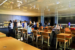 Dining area (A. Wee) Tags: cathaypacific  thebridge  lounge hongkong hkg    china
