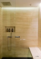 Shower space (A. Wee) Tags: cathaypacific  thebridge  lounge hongkong hkg    china bathroom shower