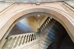 Palacio de Carlos V (Juan Miguel) Tags: alhambra andaluca espaa europa europe granada juanmiguel palaciodecarlosv sonyalpha65 spagne spain spanien tokina1116 architecture arquitectura escaleras stairs