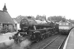 45428 and D7628 (Mike 7416) Tags: lms black five 45428 br class 25 d7628 nymr grosmont