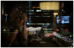 Shanghai 04 (misu_1975) Tags: hotel thepulihotel shanghai china digital leica leicam mp m240 summicron summicronm 50mm f2 night view lights city street rangefinder reflections window