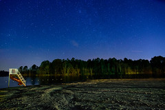 Night Sky (gh2010ism) Tags: sky camping night sand water stars shooting star nikon d750 recent blue play ground