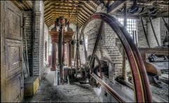 Ironbridge Machine Shop 3 (Darwinsgift) Tags: ironbridge museum blists hill victorian town telford shropshire nikkor 14mm f28 rf af ed nikon d810 hdr photomatix machine
