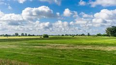 Elbe Dike (deyveone) Tags: elbe river dike germany landscape grass sky cloudy