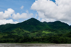Mekong view from Pak Ou Caves (rflexit) Tags: asia laos pak ou caves travel mekong buddha