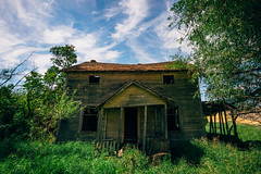 The Monster (Pedalhead'71) Tags: colfax washington abandoned farm landscape house homestead