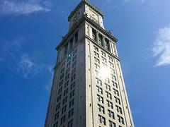 Boston - Sun shining off the Custom House. (Polterguy30) Tags: customhouse reflect sunlight massachusetts boston