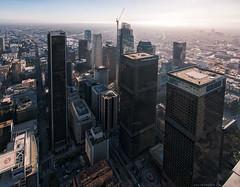The Land of Giants (Igor_Star) Tags: dtla skyspace skyline sky skyscraper wideangle los angeles la cityscape lovelycity cityview reflections panorama pano nikon d800 nikkor 20mm igorstar