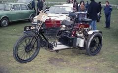 1904 ETNA Tri Cycle Reg: EL 1691 (bertie's world) Tags: sunbeam pioneer run 1979 epsomdowns motorcycles etna tricycle reg el1691 1904