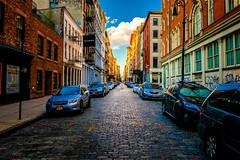 The Soho (Arutemu) Tags: city cityscape ciudad fuji fujifilm nyc ny newyork newyorkcity manhattan street 18mm