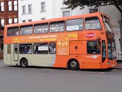 Scania N230UD/Olympus (YN08 HYP) (jamesfletcher567) Tags: information operator reading buses makemodel scania n230udeast lancs olympus registration number yn08 hyp fleet 853 owned woodley 121314