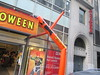 Inflatable Tube Man Spirit Halloween 2016 Store NYC 5834 (Brechtbug) Tags: orange wacky waving inflatable arm flailing tube man sky dancer spirit halloween 2016 store 48th street near 6th ave nyc costume mask stores upper west side manhattan new york city ben cooper halco collegeville logos costumes masks holidays holiday warning villain 60 60s 1960s animated cartoon animation cartoons vintage 50s 70s 80s st 09252016 september poster ad advertisement ads