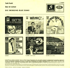 Swinging Blue Jeans, The - Tutti Frutti-german voc- D - 1965- (Affendaddy) Tags: vinylsingles theswingingbluejeans tuttifrutti sungingerman emielectrola e22870 germany 1965 collectionklaushiltscher
