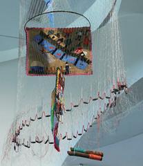 Bienal de Arte e móbiles remetentes a cultura brasileira (PortalJornalismoESPM.SP) Tags: giovannaspilborghs cultura arte exposição bienal fotojornalismo móbile cores custura