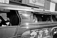 Jeepney (1) (momentspause) Tags: ricohgr ricoh blackandwhite bw manila philippines jeepney
