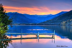 Shadow Mountain Lake-758301 (glennrossimages) Tags: grandlake colorado unitedstates us shadow mountain lake sunrise blue hour rocky mountains dock