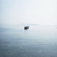 SEA (hisaya katagami) Tags: hasselblad500cm 120film fujifilm pro400h sea nature blue japan photography hasselblad