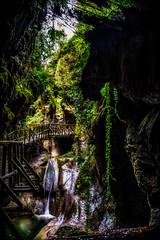 La forra del Caglieron (Agnolo) Tags: nikon d7100 1685 nikkor grotta grottedelcaglieron caves natura nature treviso veneto fai luoghidelcuore torrente passerella nikonflickraward