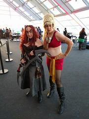 Klingon and Mirror Universe Rand! (blueZhift) Tags: startrek klingon rand mirroruniverse adlerplanetarium chicago cosplay costume afterdark