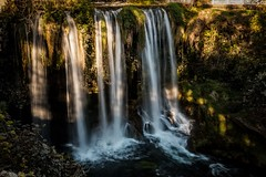 As sunlight falls (Anthony Plancherel) Tags: antalya category dudenwaterfall landscape places turkey waterfall canon canon1585mm canon70d falls dudenelalesi turkiye nature natural longexposure blurredwater silkwater whitewater gorge rocks stream river sunlight outdoors dappledsunlight glow