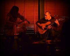 Jon Dee Graham (seanbirm) Tags: nikond5100 jondeegraham susanvolez maxchapman ftizgeraldsnightclub sidebar acousticguitar acousticshow fiddle