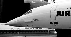 CONCORDE AIR FRANCE F-BVFC (209) AU MUSEE AEROSCOPIA   A   BLAGNAC. (jleroch) Tags: concorde air france fbvfc blagnac toulouse aeroscopia supersonique aerospacial