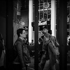 The Look (Bilderschachtel Photography) Tags: street cologne photo walk outdoor outdoors monochrome look people fujifilm flickr 35mm bw blackandwhite candid city life citylife contrast photowalk soulofstreet kln strase