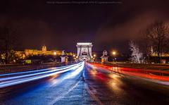 Budapest at night (george papapostolou) Tags: budapest hungary nikon travel architecture nikongreece georgepapapostolou gpapapostolou chainbridge